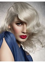 Well-favored Wavy Capless Synthetic Wig