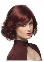 Alluring Wavy Capless Synthetic Wig