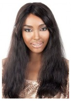 Concise Lace Front Remy Human Hair African American Wig