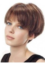 Polished Remy Human Hair Capless Wig