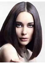 Dazzling Straight Lace Front Synthetic Wig