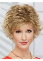 Durable Capless Wavy Synthetic Wig